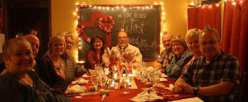 Valentine Dinner Party