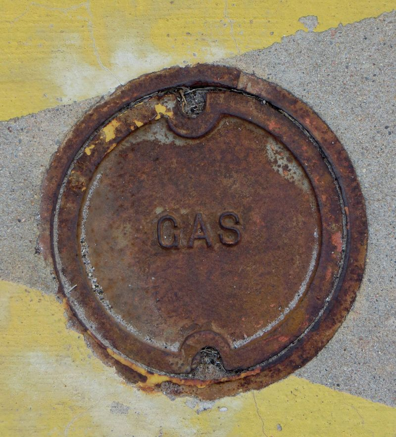 Gas Line Cover