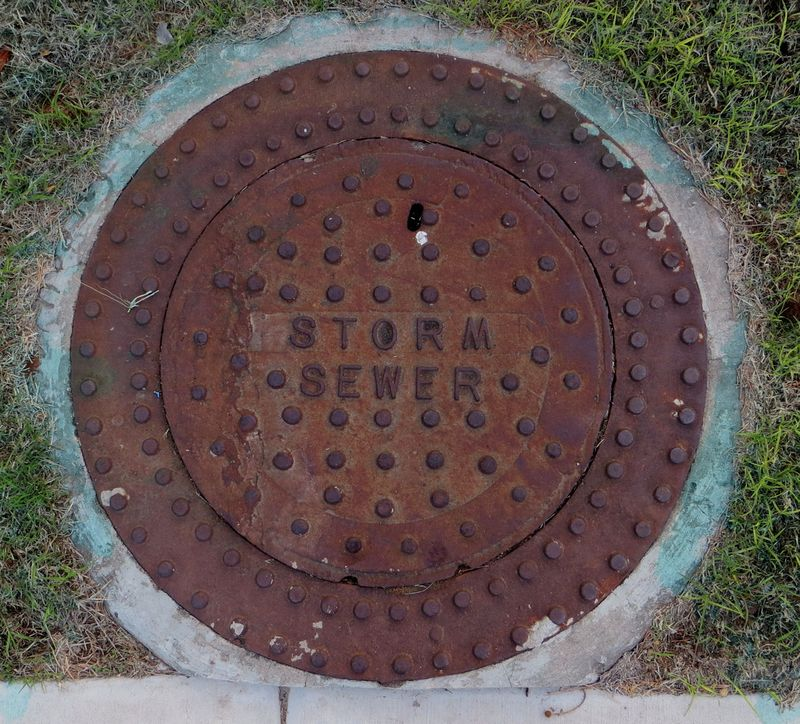 Storm Sewer Cover