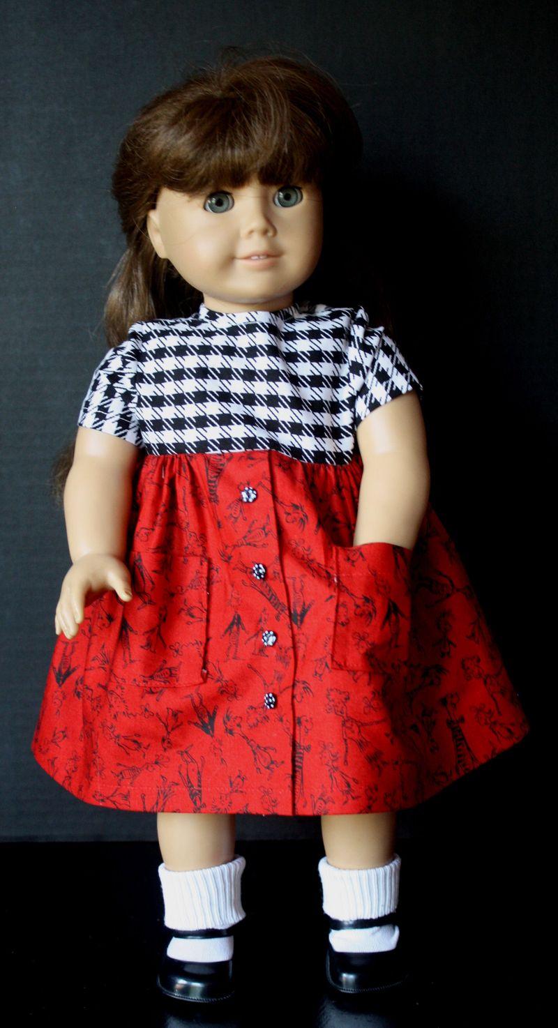 AG Doll Clothes Play Dress