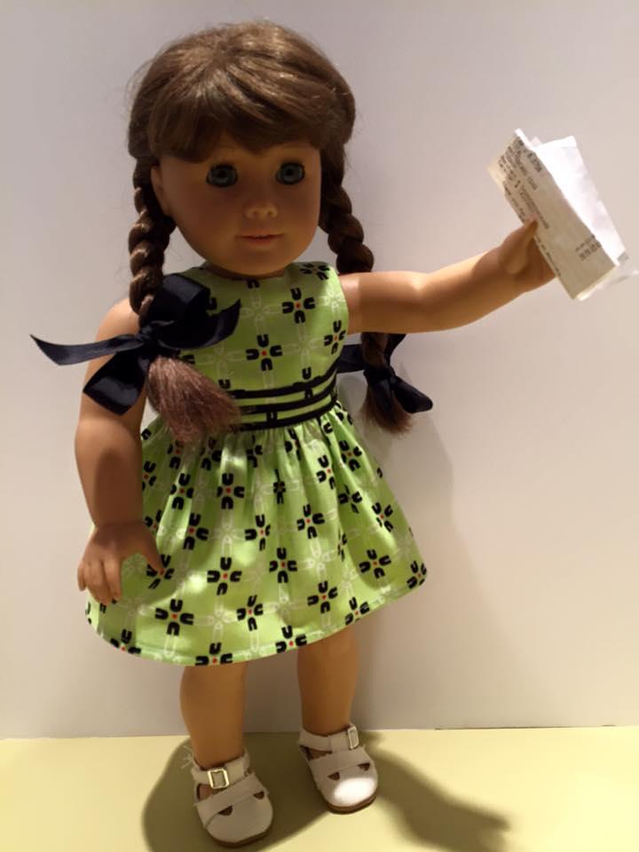 AG Doll Restringing After