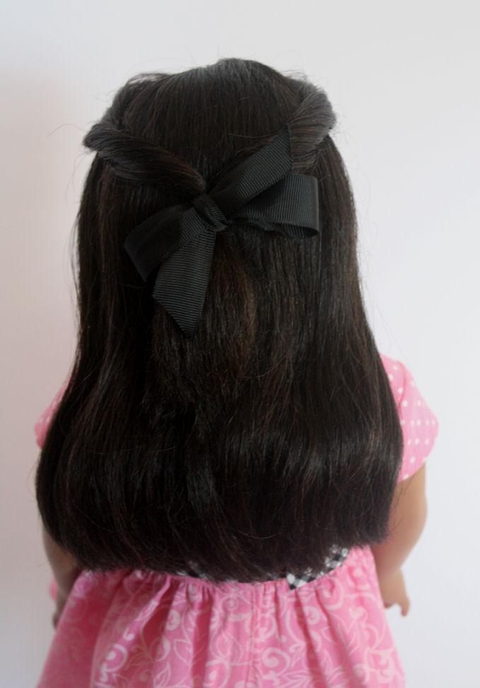 AG Doll Hair Restoration After Final Picking-Back