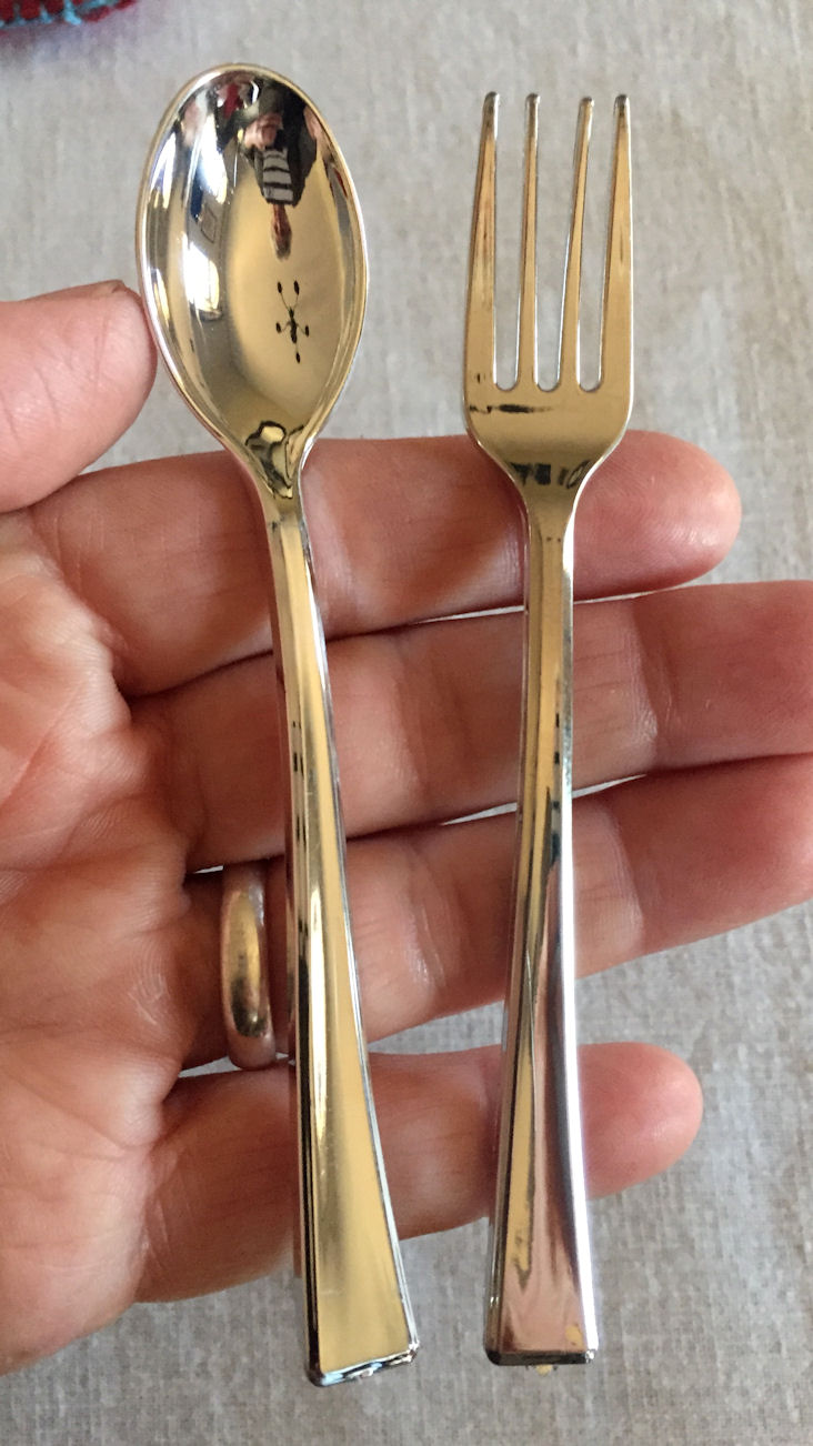 American Girl Valentiny Party Tiny Flatware