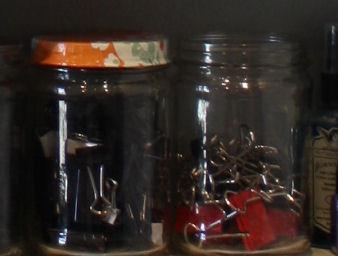 Menu holders from binder clips