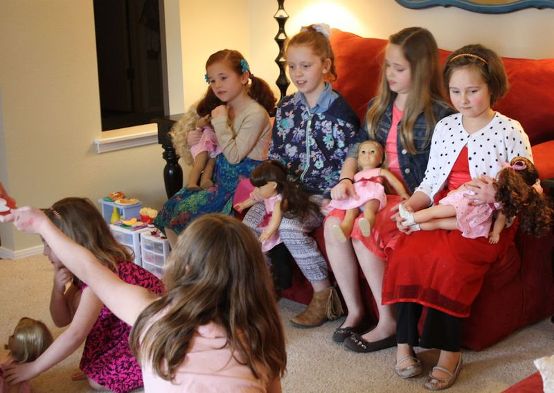 American Girl Valentine Party -Musical Hearts 2