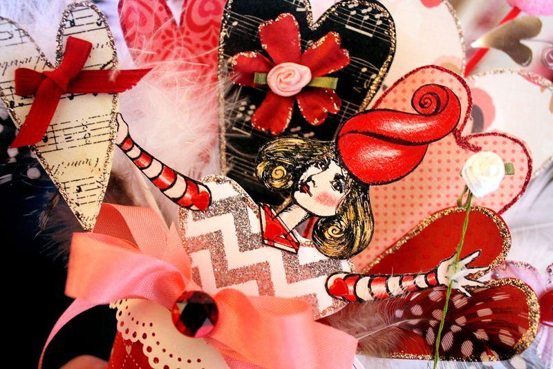 Valentine Cone Close Up