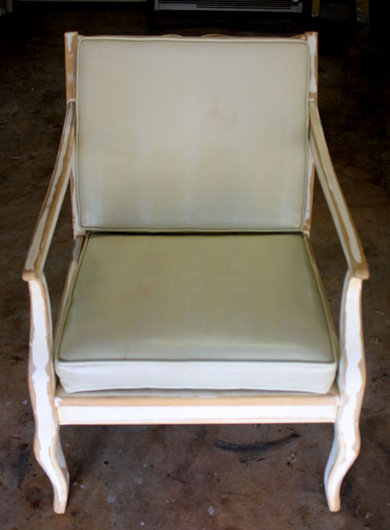 Mid century modern chair - before