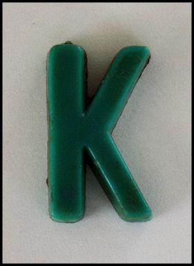 Found alphabet 'k'
