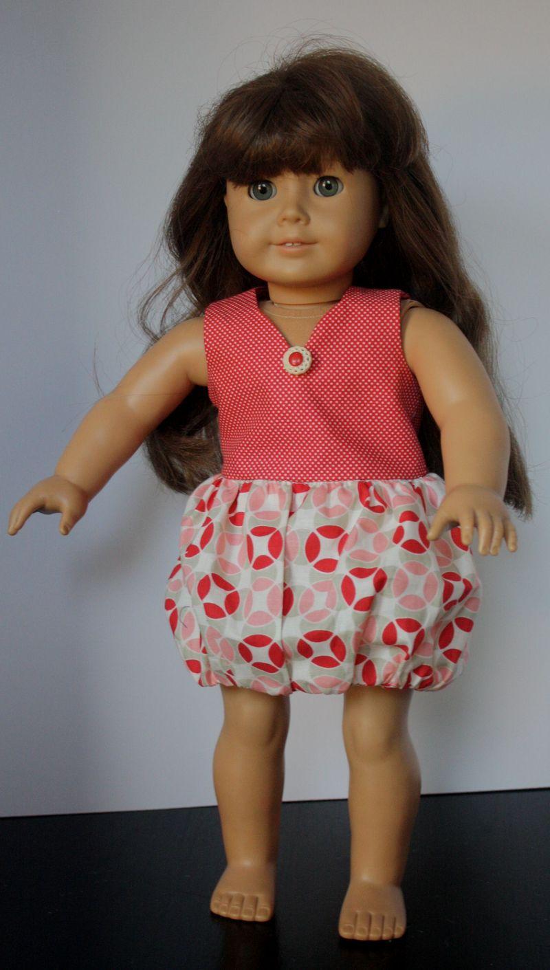 AG Doll Clothes Bubble Dress
