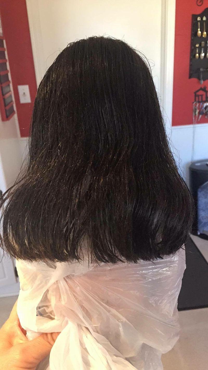 First Hair Treatment