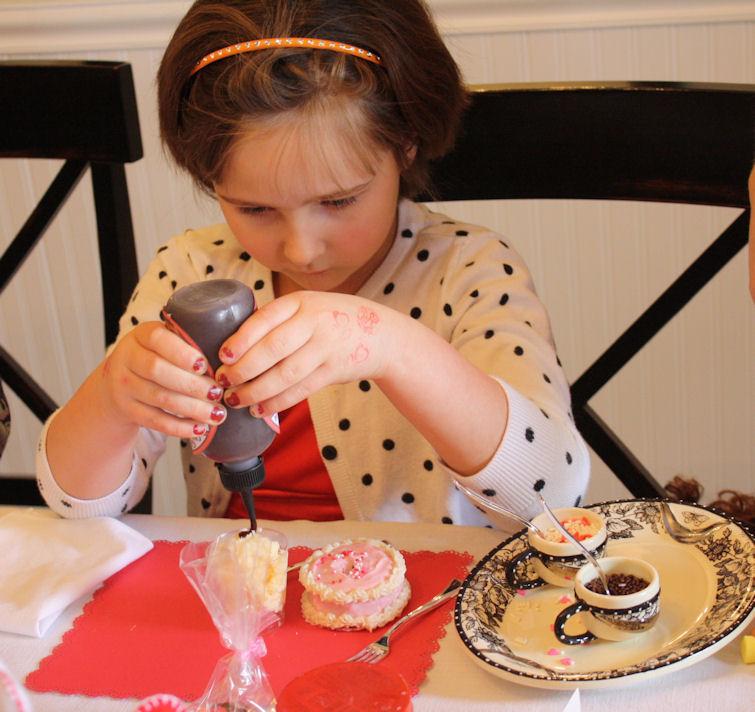 American Girl Valentine Party - Mini Sundaesjpg