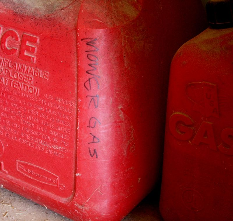 Mower Gas Can