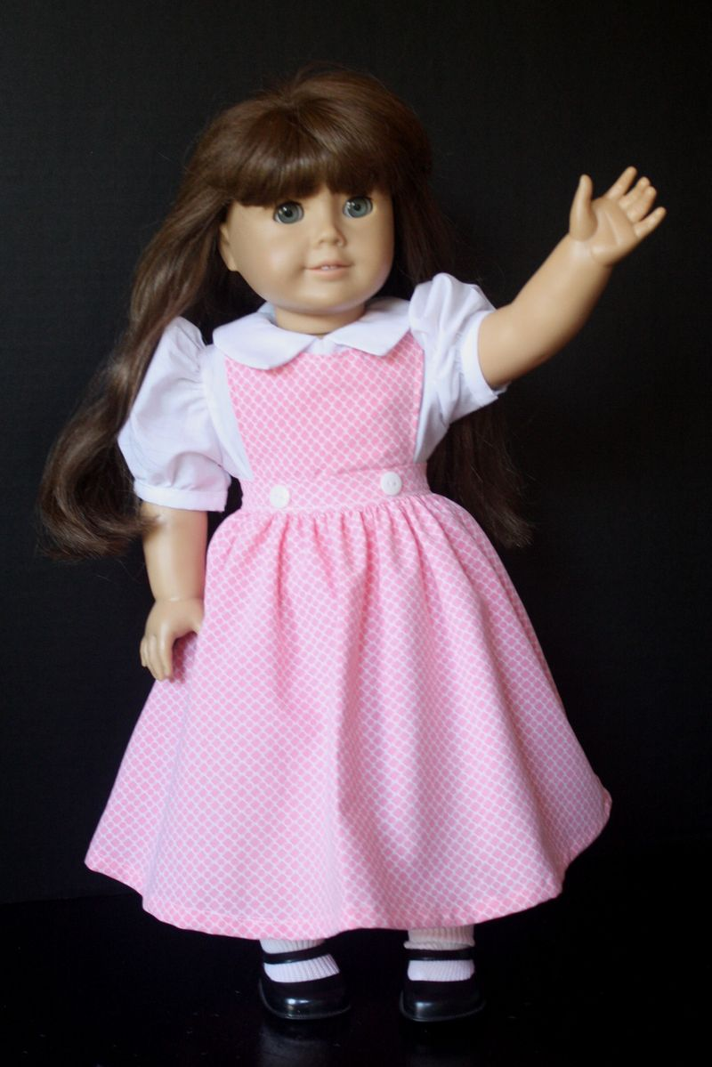 AG Doll Clothes Pinafore Dress