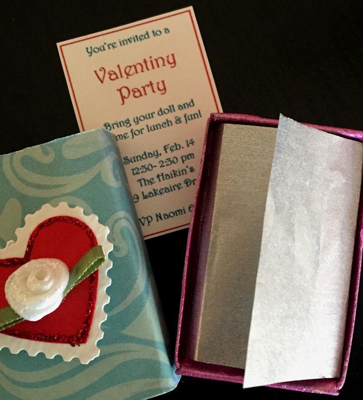 American Girl Valentiny Party Invitation4