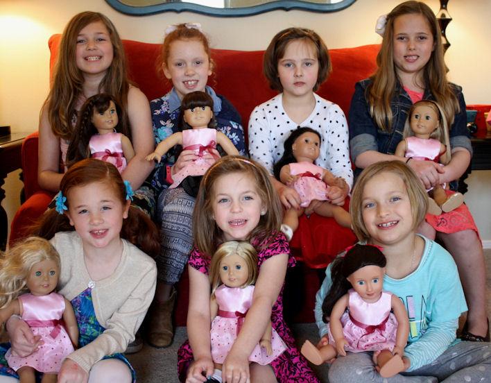 Valentiny Party American Girls