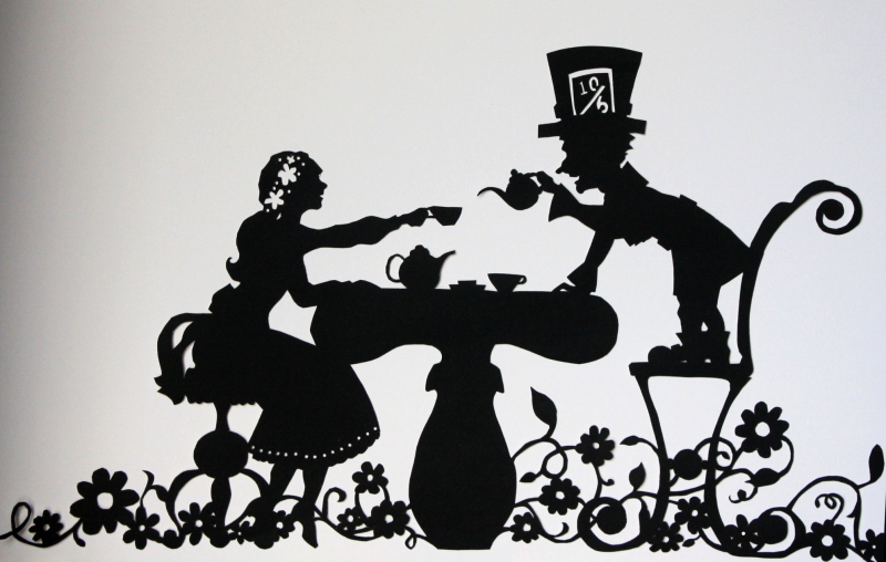 Paper Cut - Mad Hatter's Tea Party